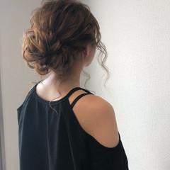 パーティ フェミニン ヘアアレンジ アップスタイル ヘアスタイルや髪型の写真・画像