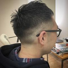 メンズ スキンフェード 刈り上げ ショート ヘアスタイルや髪型の写真・画像