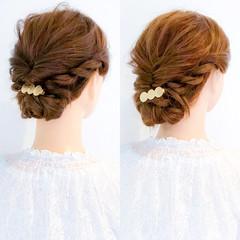 大人女子 上品 ヘアアレンジ ロング ヘアスタイルや髪型の写真・画像