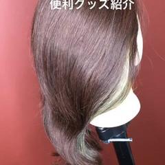 セミロング 簡単ヘアアレンジ 夏 ヘアアレンジ ヘアスタイルや髪型の写真・画像