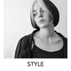 ブリーチオンカラー ボブ ホワイトカラー 原宿 ヘアスタイルや髪型の写真・画像