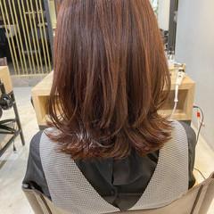 レイヤーカット ウルフレイヤー 韓国ヘア ナチュラル ヘアスタイルや髪型の写真・画像