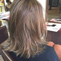 ボブ 渋谷系 アッシュ ブラウン ヘアスタイルや髪型の写真・画像