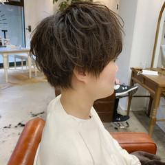 無造作パーマ 毛先パーマ ワンカールパーマ ゆるふわパーマ ヘアスタイルや髪型の写真・画像