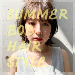 ミニボブ ボブ ナチュラル 大人カジュアル ヘアスタイルや髪型の写真・画像