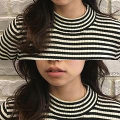 ストリート アッシュ ハイライト 黒髪 ヘアスタイルや髪型の写真・画像