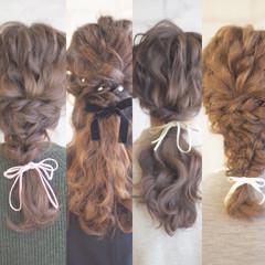 花嫁 ゆるふわ 外国人風 ヘアアレンジ ヘアスタイルや髪型の写真・画像