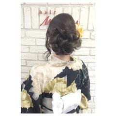ヘアアレンジ 夏 お祭り ロング ヘアスタイルや髪型の写真・画像