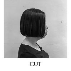 ヘアカット オフィス 成人式 ボブ ヘアスタイルや髪型の写真・画像