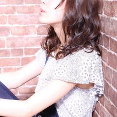 大人かわいい ミディアム ゆるふわ フェミニン ヘアスタイルや髪型の写真・画像
