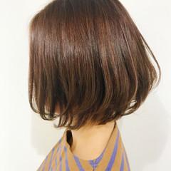 色気 ショートボブ 冬 ナチュラル ヘアスタイルや髪型の写真・画像