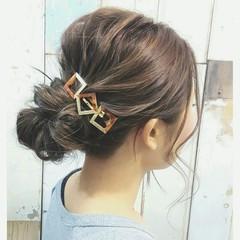 外国人風 ヘアアレンジ ハイライト ロング ヘアスタイルや髪型の写真・画像