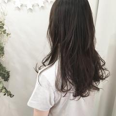 ロング 抜け感 春 アッシュ ヘアスタイルや髪型の写真・画像