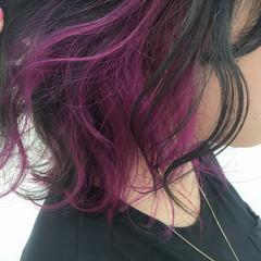 ストリート カラーバター ボブ 夏 ヘアスタイルや髪型の写真・画像