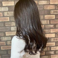 大人ロング 韓国ヘア ロングヘアスタイル ナチュラル ヘアスタイルや髪型の写真・画像
