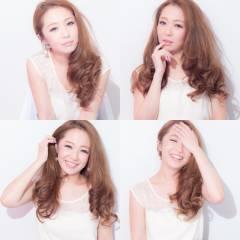 春 ゆるふわ モテ髪 コンサバ ヘアスタイルや髪型の写真・画像