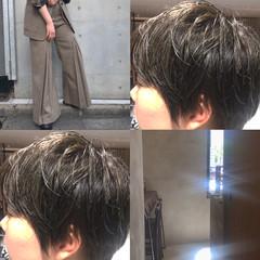 ハニーベージュ 3Dハイライト 大人ハイライト ナチュラル ヘアスタイルや髪型の写真・画像