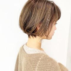 大人かわいい ショート デート ショートボブ ヘアスタイルや髪型の写真・画像