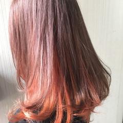 渋谷系 透明感 ミディアム ナチュラル ヘアスタイルや髪型の写真・画像