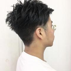 ストリート ショート マッシュ 刈り上げ ヘアスタイルや髪型の写真・画像