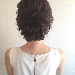 ロング デート 女子会 結婚式 ヘアスタイルや髪型の写真・画像