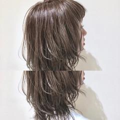 ゆるふわ 外国人風カラー ウェーブ ハイライト ヘアスタイルや髪型の写真・画像