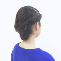 大人かわいい ショート ロープ編み ボブ ヘアスタイルや髪型の写真・画像