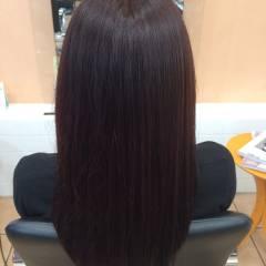 セミロング ナチュラル 大人かわいい 黒髪 ヘアスタイルや髪型の写真・画像