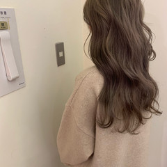 大人かわいい アンニュイほつれヘア イルミナカラー 外国人風 ヘアスタイルや髪型の写真・画像