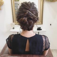 ヘアアレンジ お呼ばれヘア 大人かわいい ブライダル ヘアスタイルや髪型の写真・画像