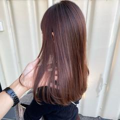 ナチュラル バレイヤージュ 髪質改善カラー 髪質改善 ヘアスタイルや髪型の写真・画像