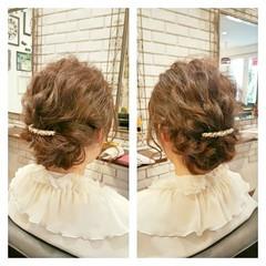 ゆるふわ ヘアアレンジ ミディアム 外国人風 ヘアスタイルや髪型の写真・画像
