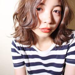 ストリート アッシュ 小顔 大人女子 ヘアスタイルや髪型の写真・画像