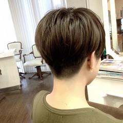 坊主 刈り上げ ショート ストリート ヘアスタイルや髪型の写真・画像