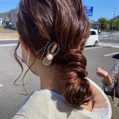 ゆるふわセット ふわふわヘアアレンジ ヘアアレンジ ゆるふわ ヘアスタイルや髪型の写真・画像