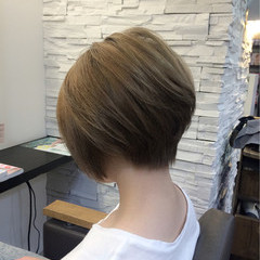スポーツ ハイライト 渋谷系 ショート ヘアスタイルや髪型の写真・画像