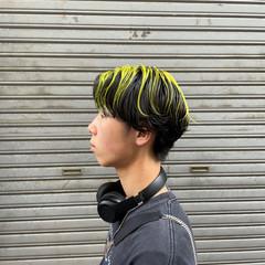 ウルフカット ベリーショート インナーカラー モード ヘアスタイルや髪型の写真・画像