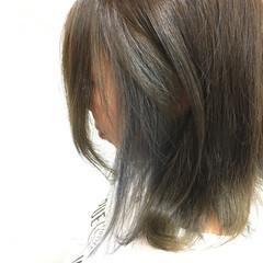 ストリート アッシュ ボブ インナーカラー ヘアスタイルや髪型の写真・画像