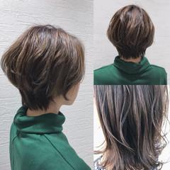 こなれ感 かわいい ショート ナチュラル ヘアスタイルや髪型の写真・画像