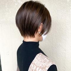 ショート ショートボブ ベリーショート 大人ショート ヘアスタイルや髪型の写真・画像