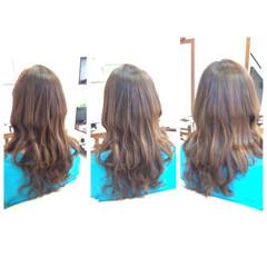ミディアム 外国人風 ハイライト 簡単ヘアアレンジ ヘアスタイルや髪型の写真・画像