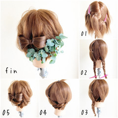 ゆる巻き ヘアアレンジ ロング ふわふわヘアアレンジ ヘアスタイルや髪型の写真・画像