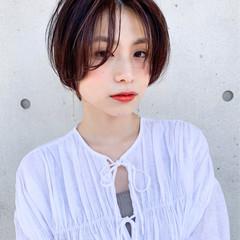 アンニュイほつれヘア ハンサムショート ショート ナチュラル ヘアスタイルや髪型の写真・画像
