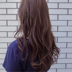 大人かわいい ゆるふわ フェミニン ロング ヘアスタイルや髪型の写真・画像