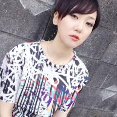 ストリート 刈り上げ モード 黒髪 ヘアスタイルや髪型の写真・画像