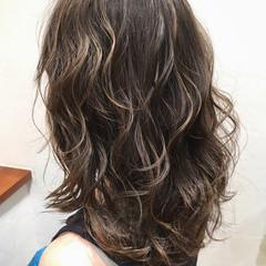 ハイライト エレガント 上品 大人女子 ヘアスタイルや髪型の写真・画像