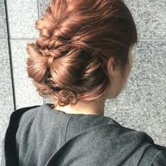ヘアアレンジ ハーフアップ ゆるふわ ナチュラル ヘアスタイルや髪型の写真・画像