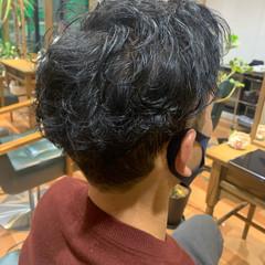 ナチュラル メンズカット ツーブロック 刈り上げ ヘアスタイルや髪型の写真・画像