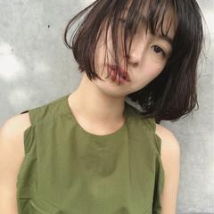 モード ゆるふわ 色気 暗髪 ヘアスタイルや髪型の写真・画像