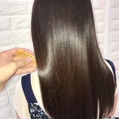ナチュラル 髪質改善 髪質改善トリートメント ツヤ髪 ヘアスタイルや髪型の写真・画像